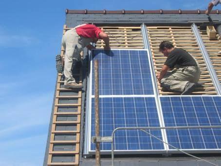 panneau solaire etanche