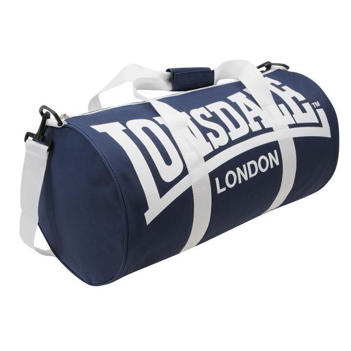 Lonsdale Bag Barrel Gym Holdall Sack Sports Fitness School Travel Duffle Boxing Ebay