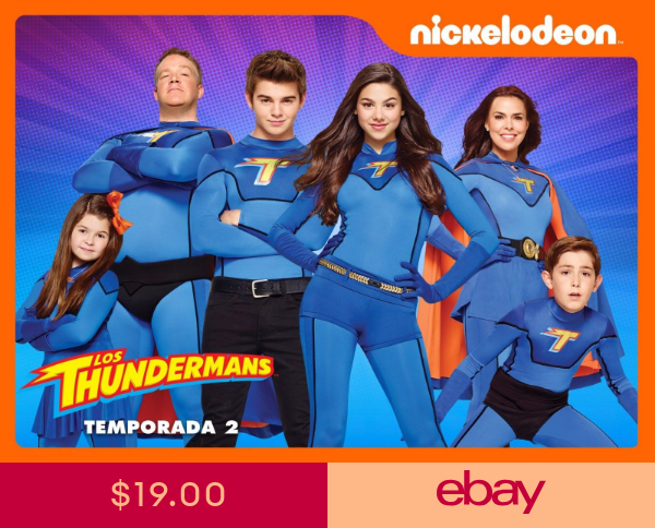 2 Sizes Available Nickelodeon Teen Kids THE THUNDERMANS POSTER 03