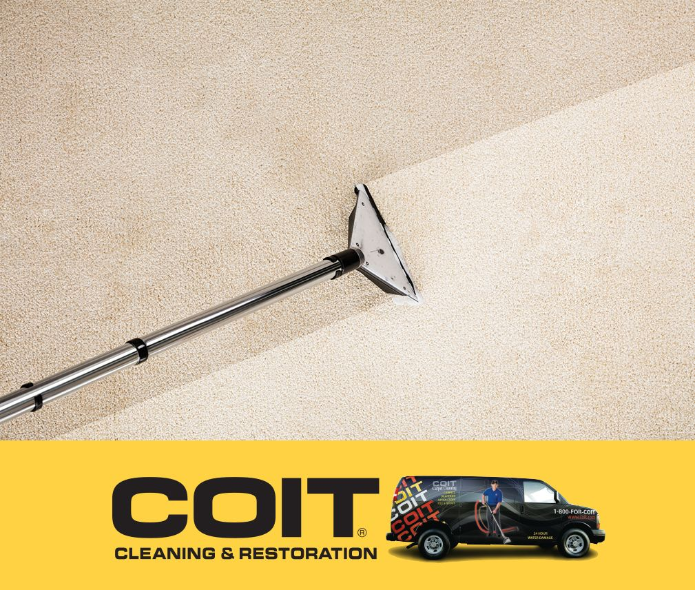 Pin by COIT Cleaning & Restoration of Salt Lake City on