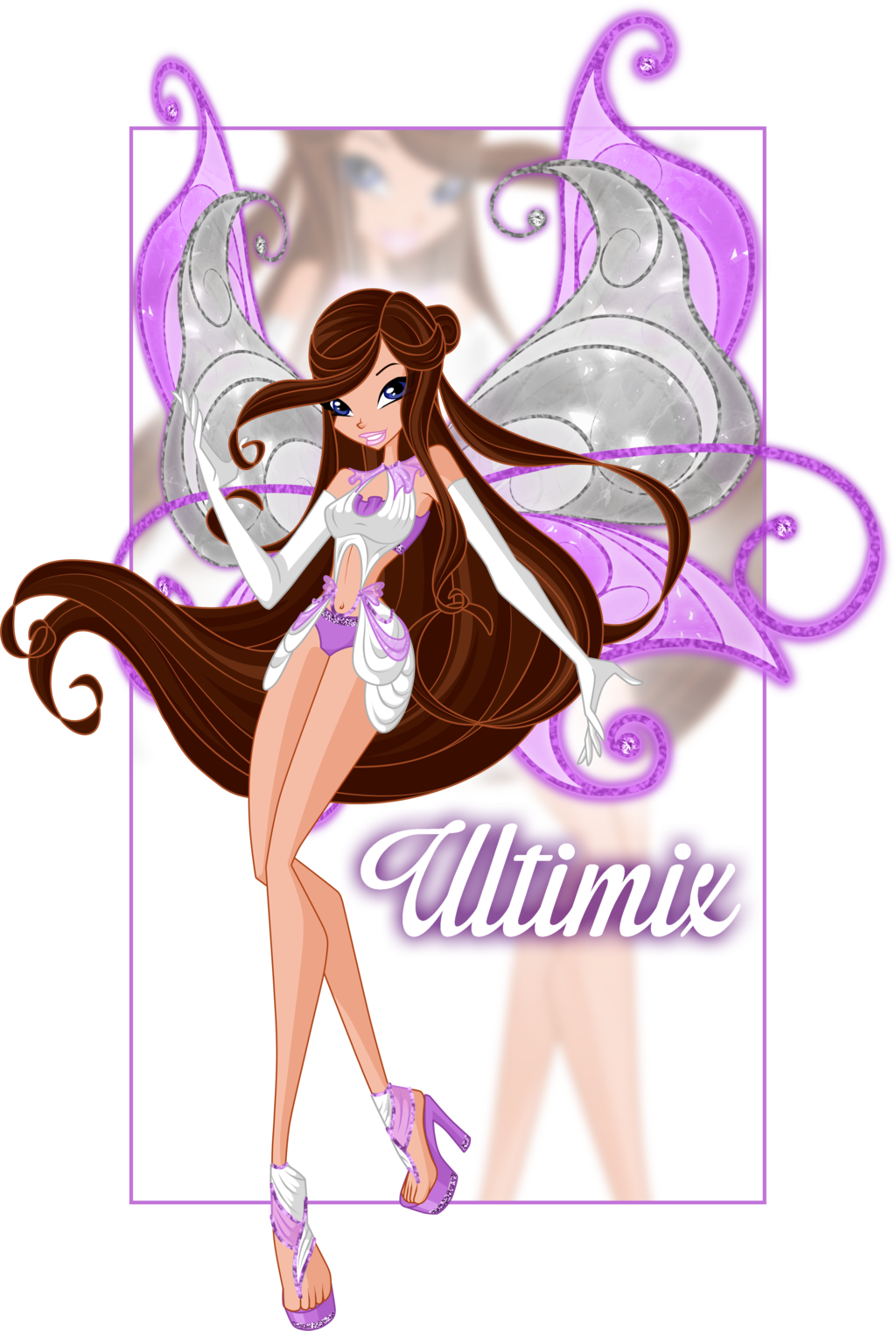 CP: Serena - power of Ultimix by Ultimix deviantart com on