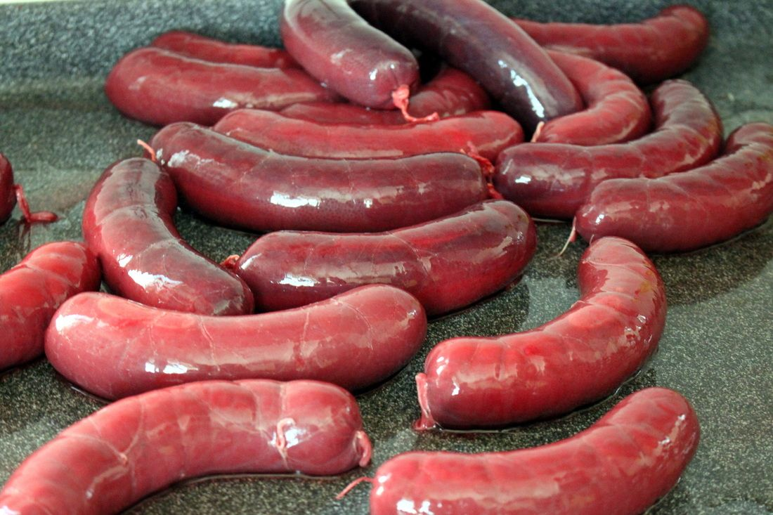How to make Swiss Blood Sausages!