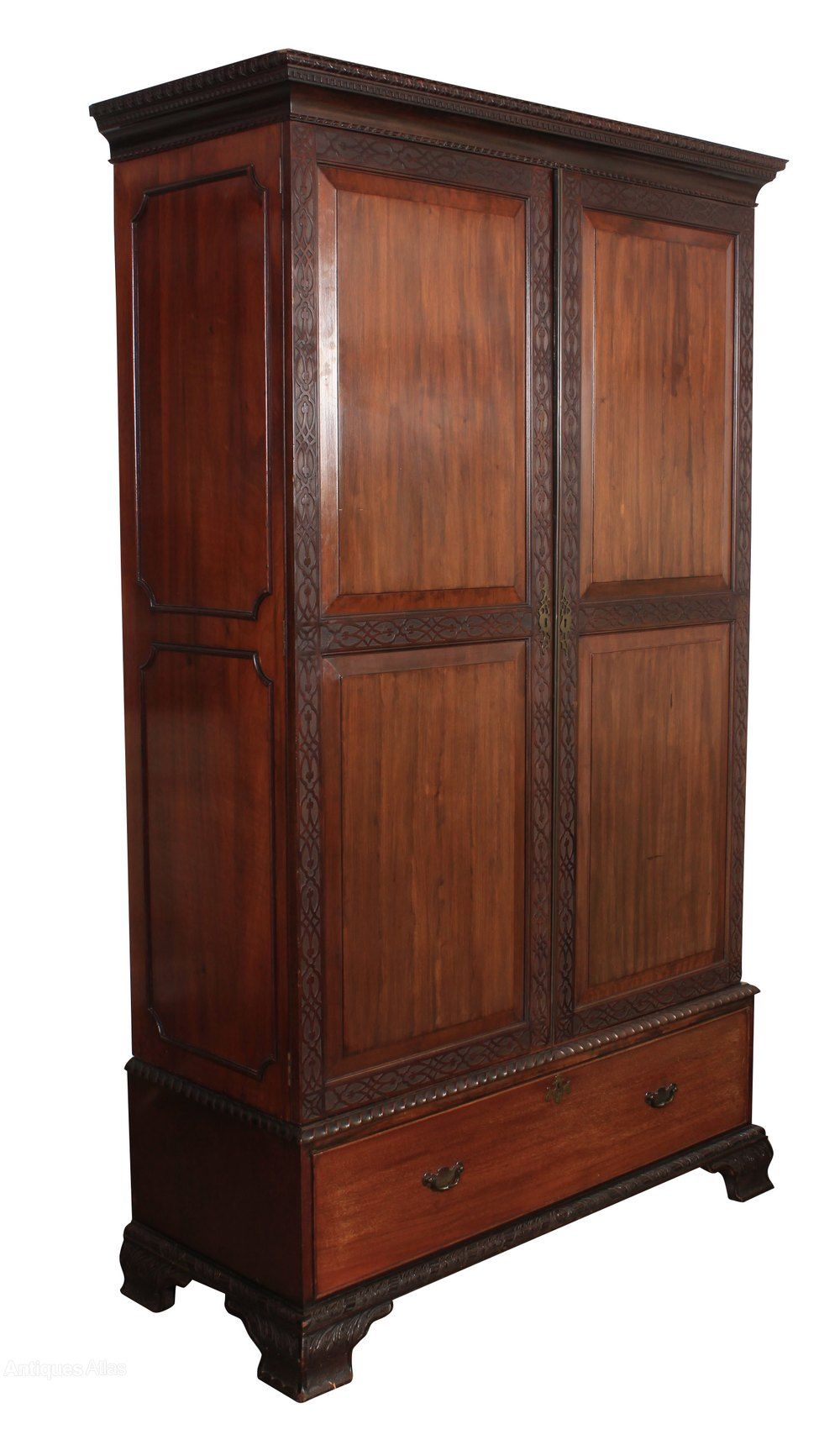 Best Mahogany Chippendale Style Wardrobe Antiques Atlas 400 x 300