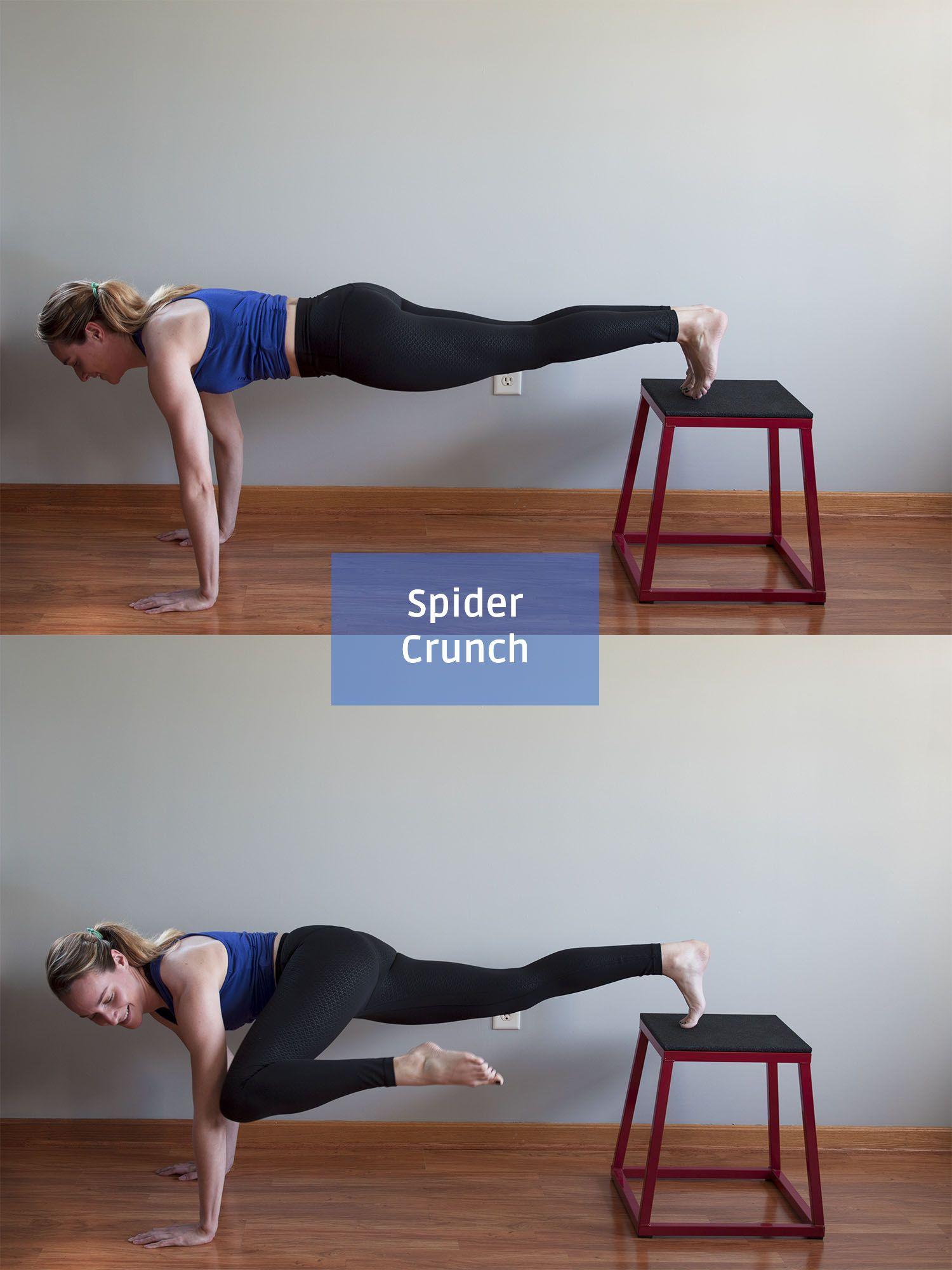 Plyo Box Workout For Flat Stomach