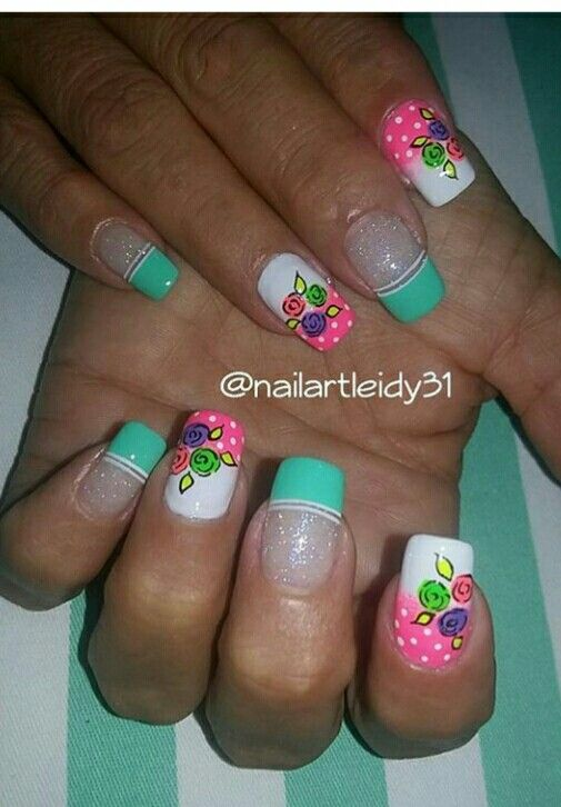 Pin by Jewelene Lane on a SPRING/SUMMER Nail Art | Pinterest ...