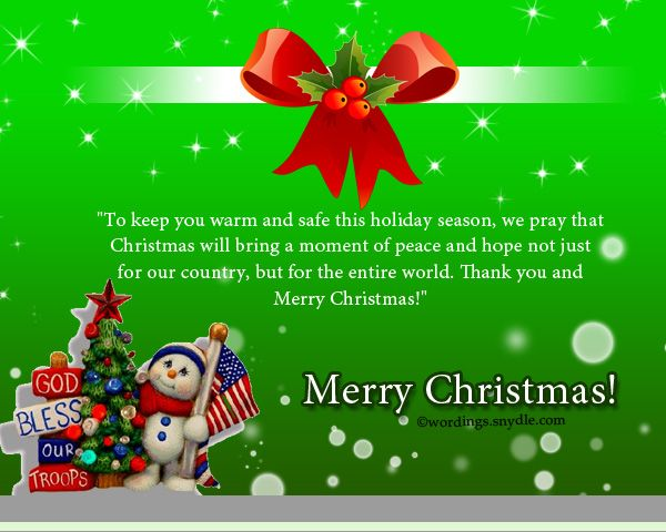 merry christmas wishes for soldiers wordings and messages merry christmas wishes christmas card messages christmas wishes pinterest