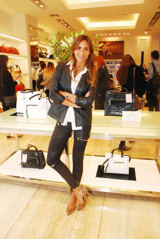 María Paz Blanco en el lanzamiento de The Queen - Limited Edition en Alto Las Condes