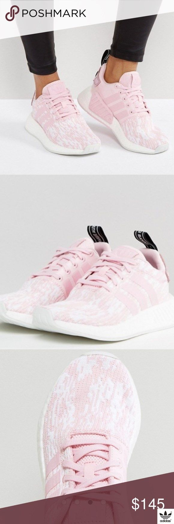 76ccd699ed7a2 Adidas Original Sneakers Pale Pink NMD R2 Size 6.5 brand new