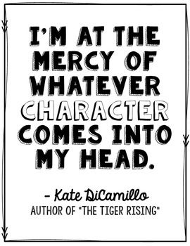 FREEBIE! This Kate DiCamillo quote poster is also included