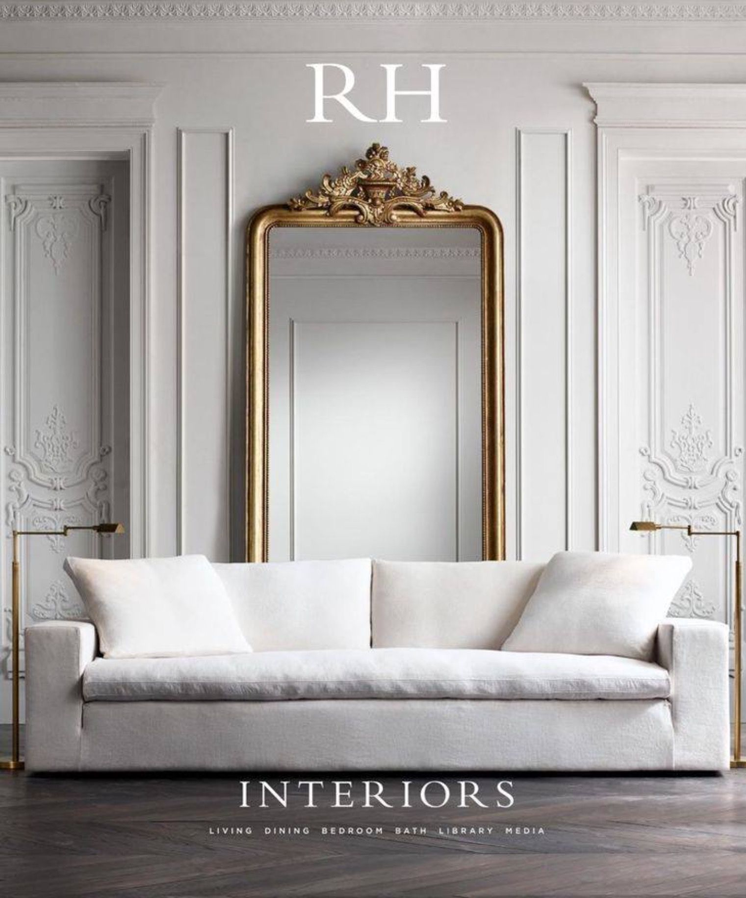 AMAZING WHITE SOFA | This is a gorgeous home furniture inspiration ...