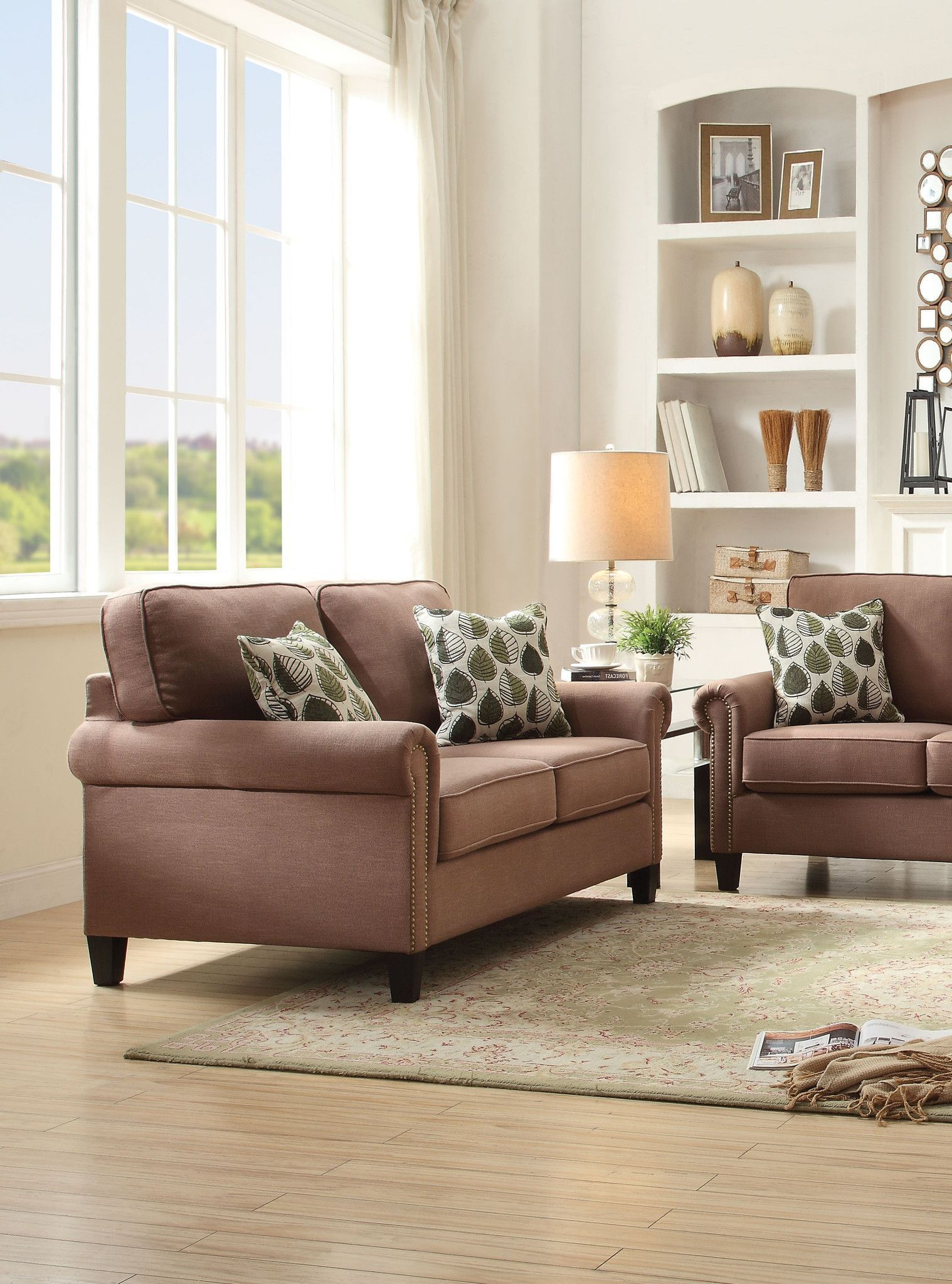 Felise Loveseat W/2 Pillows 52591