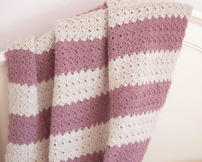 Free Chunky Crochet Throw Pattern | Tricot | Pinterest | Manta ...