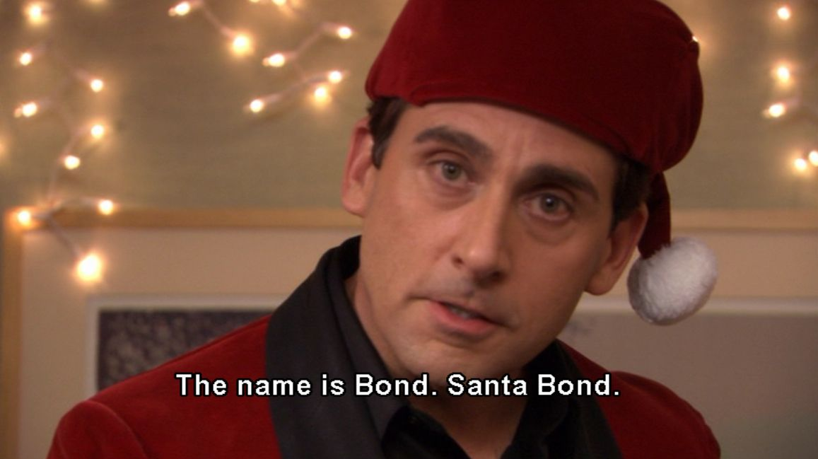 Christmas As Told By The Office Michael scott the