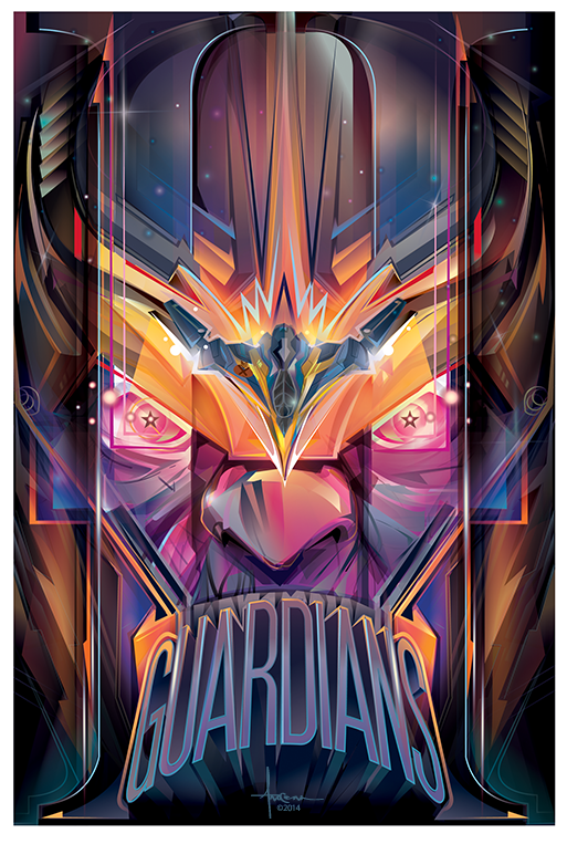 Guardians of the Galaxy II Thanos Tribute - Orlando Arocena
