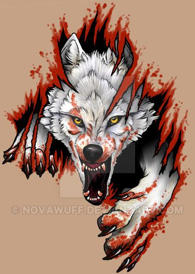 284fa72a3 Arctic Wolf Tattoo by Novawuff on DeviantArt | ART CREATIONS in 2019 ...