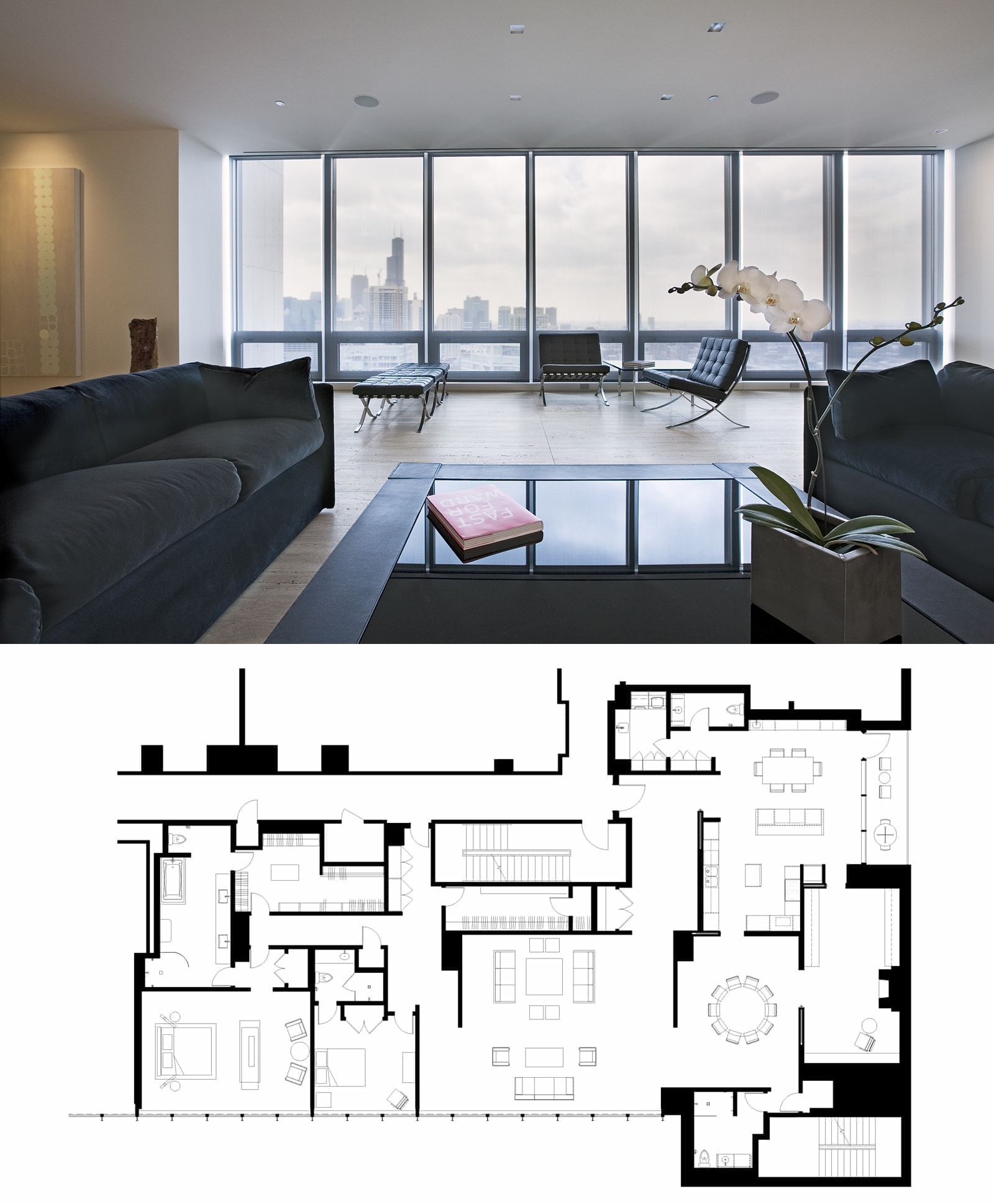 Penthouse Apartment Chicago Search Chicago's Luxury Real
