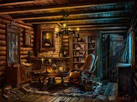 Hunter's House by abzac666 | House hunters, City art ...