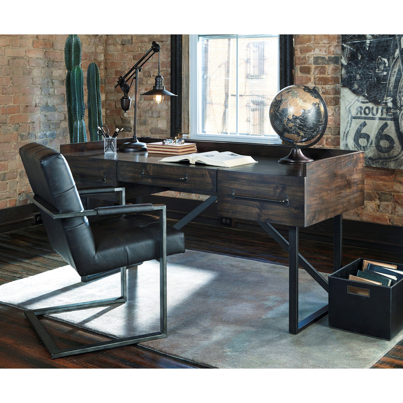 Image Result For Rustic Desk Modern Home Office Rustic Living Room