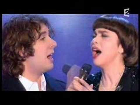 Josh Groban - Mireille Mattieu     SOMEWHERE OVER THE