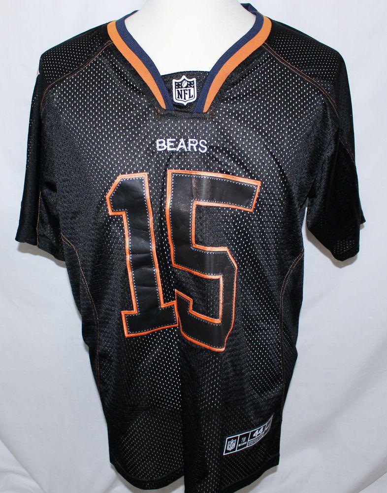 nfl nike chicago bears brandon marshall 15 on field jersey mens 44 sewn nike