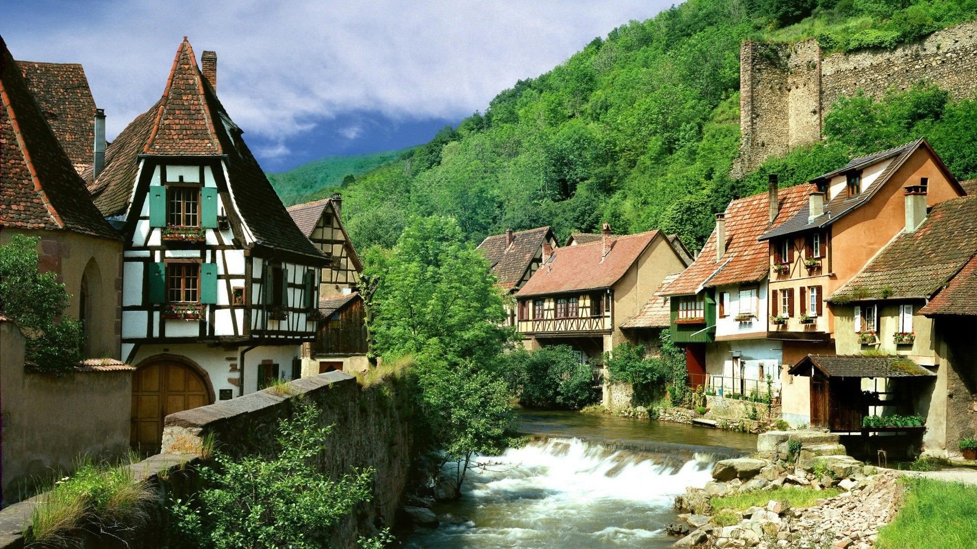 France Landscape | France landscapes nature villages wallpaper ...