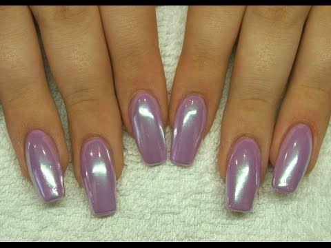 Soft Mirror Powder Color Chrome Step By Nails 21 You