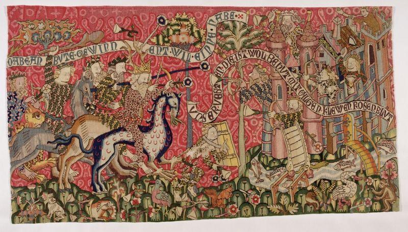 Tapestry From Strasbourg About 1420 Mit Bildern Wandteppich Weben Bildwirkerei Museum