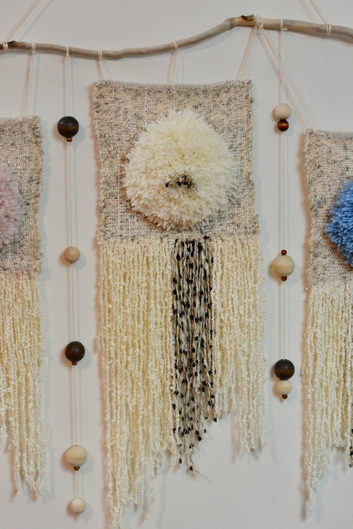 Woven Wall Hanging Large Woven Wall Hanging Textile Wall