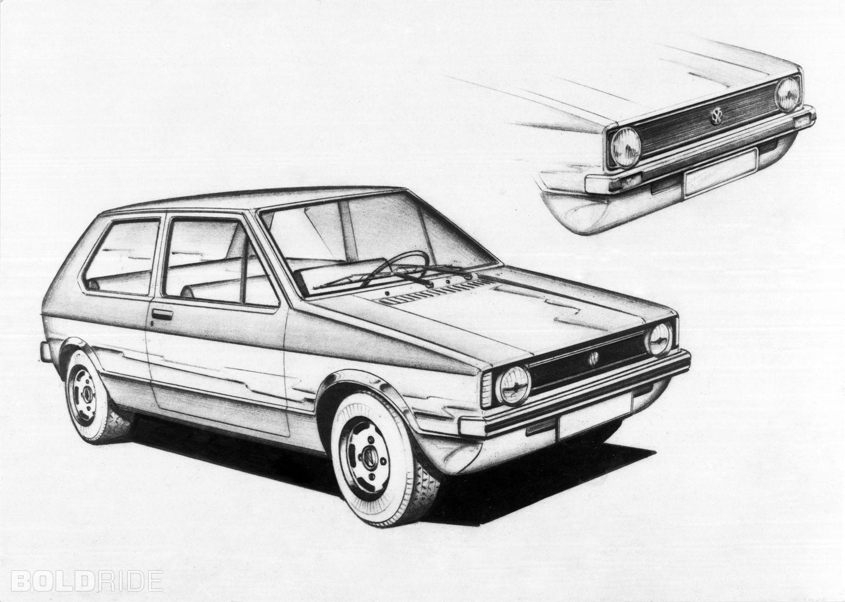 Volkswagen Golf Mk1 1980 Bddbfefbea