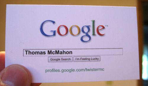 My Google Business Cards Google Business Card Photo Business Cards Unusual Business Card