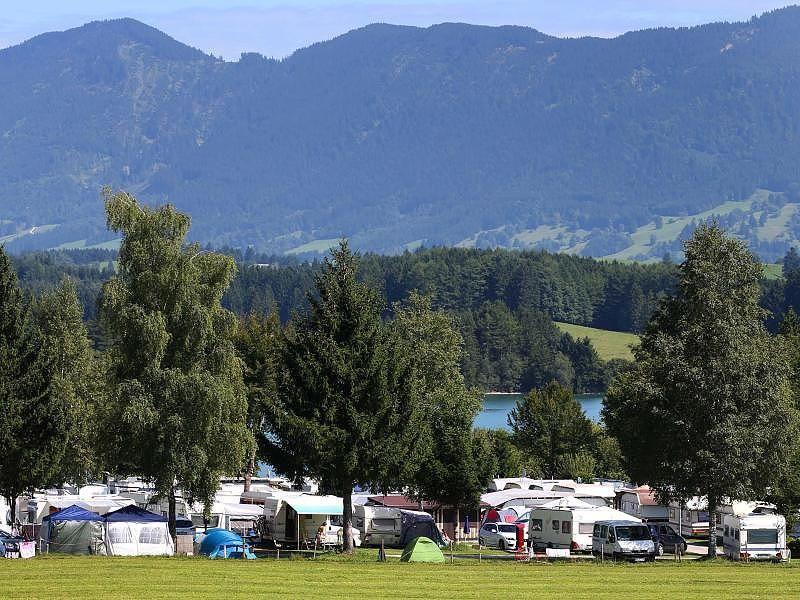 Angeln Camping Bayern