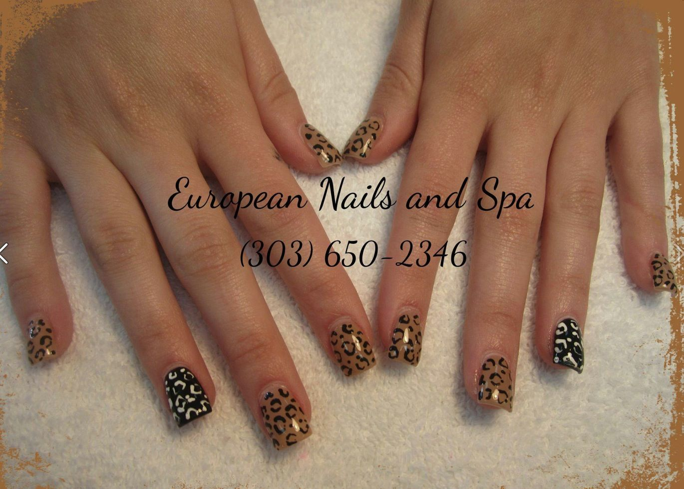 This is just one fun design by European Nails and Spa! Make your ...
