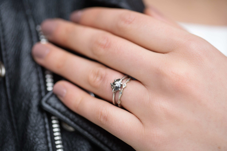 Sloan Diamond Ring   Alternative bride and Diamond
