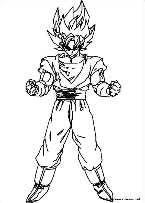 Dibujos De Dragon Ball Z Volver A La Categora Dragon Ball Z Coloring Pages For Kids Dibujos De Dragon Dibujos Paginas Para Colorear