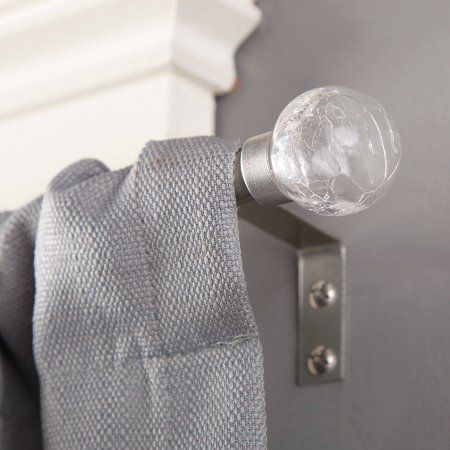 Home Curtain Rods Window Curtain Rods Silver Curtains