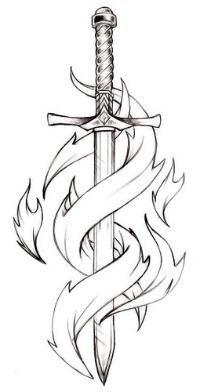 Simple sword tattoo google search novel coercion the for Sword tattoos tumblr