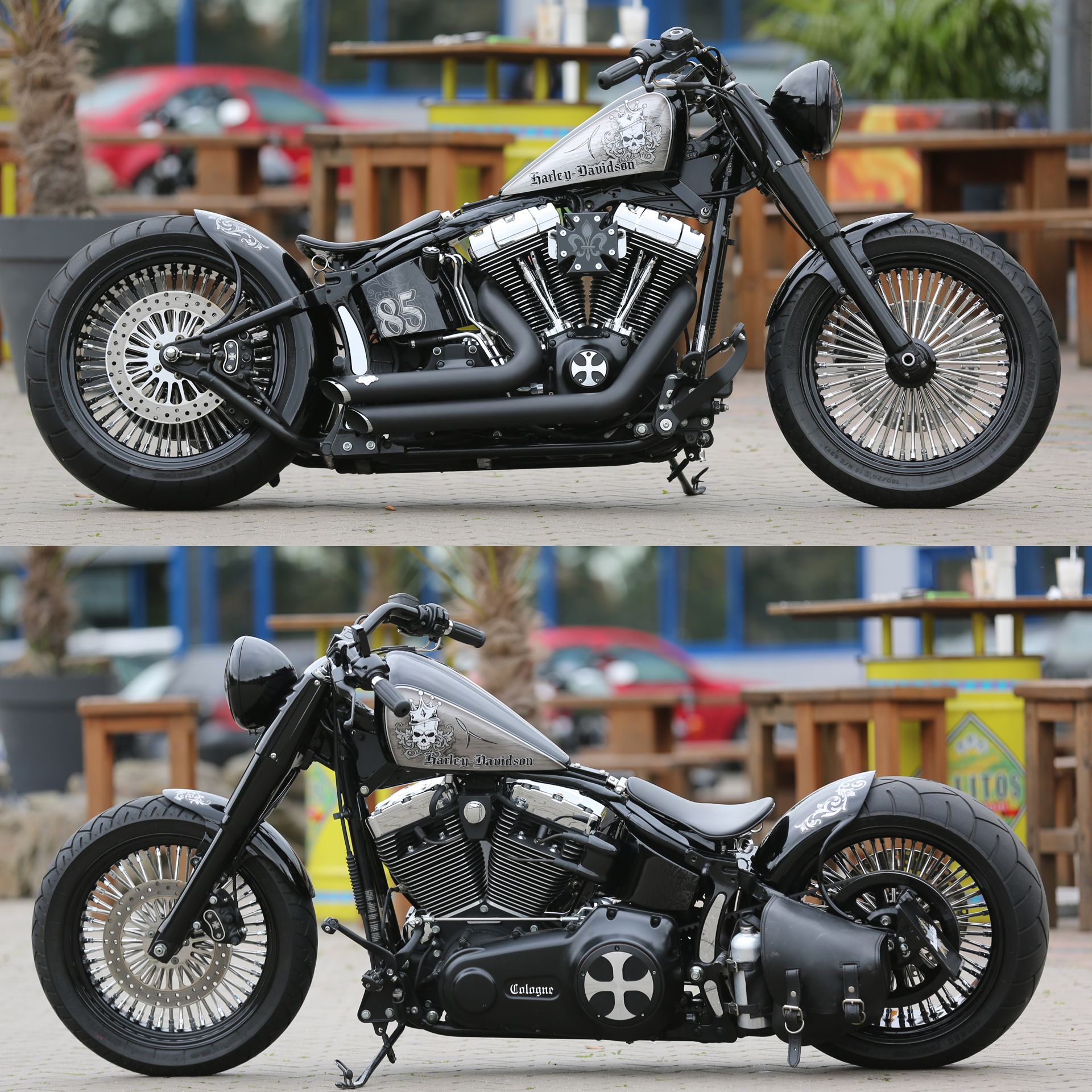 Thunderbike Customized Harley Davidson Softail Fat Boy