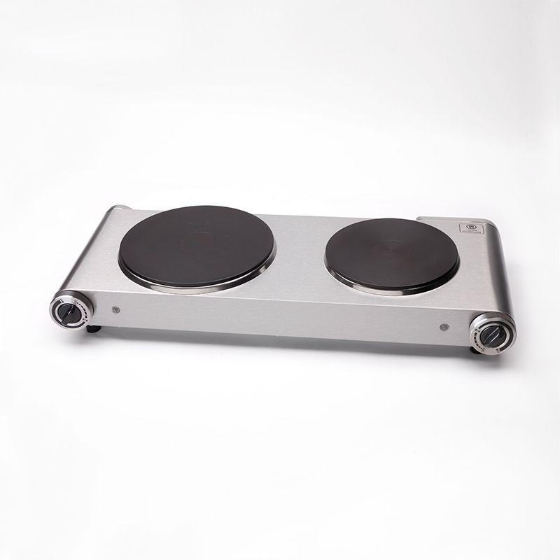 The Best Double Hot Plate For Cooking Electric Stove 2 Burners Stainless Steel Two Hotplates 2500w 220 240v Hotplates Hot Plates For Cooking Electric Stove
