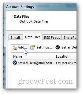 How To Create A Pst File For Outlook 2013 Outlook Microsoft Outlook Create