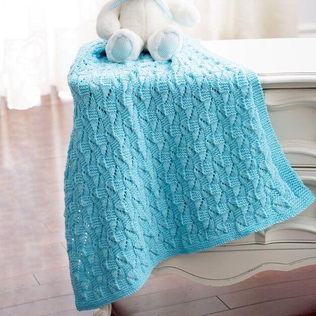 Bernat Staggered Squares Blanket in 2020 | Baby blanket ...