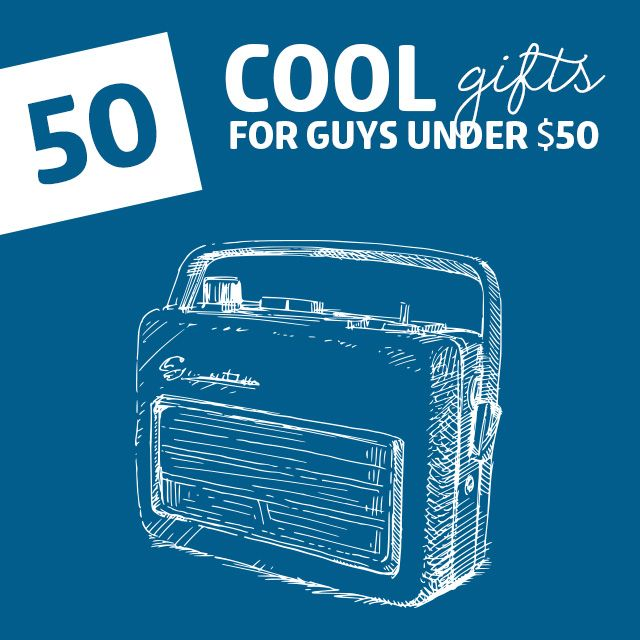 3579ace67354 50 Cool Gifts for Guys- under 50 dollars. This is actually full of really  good ideas