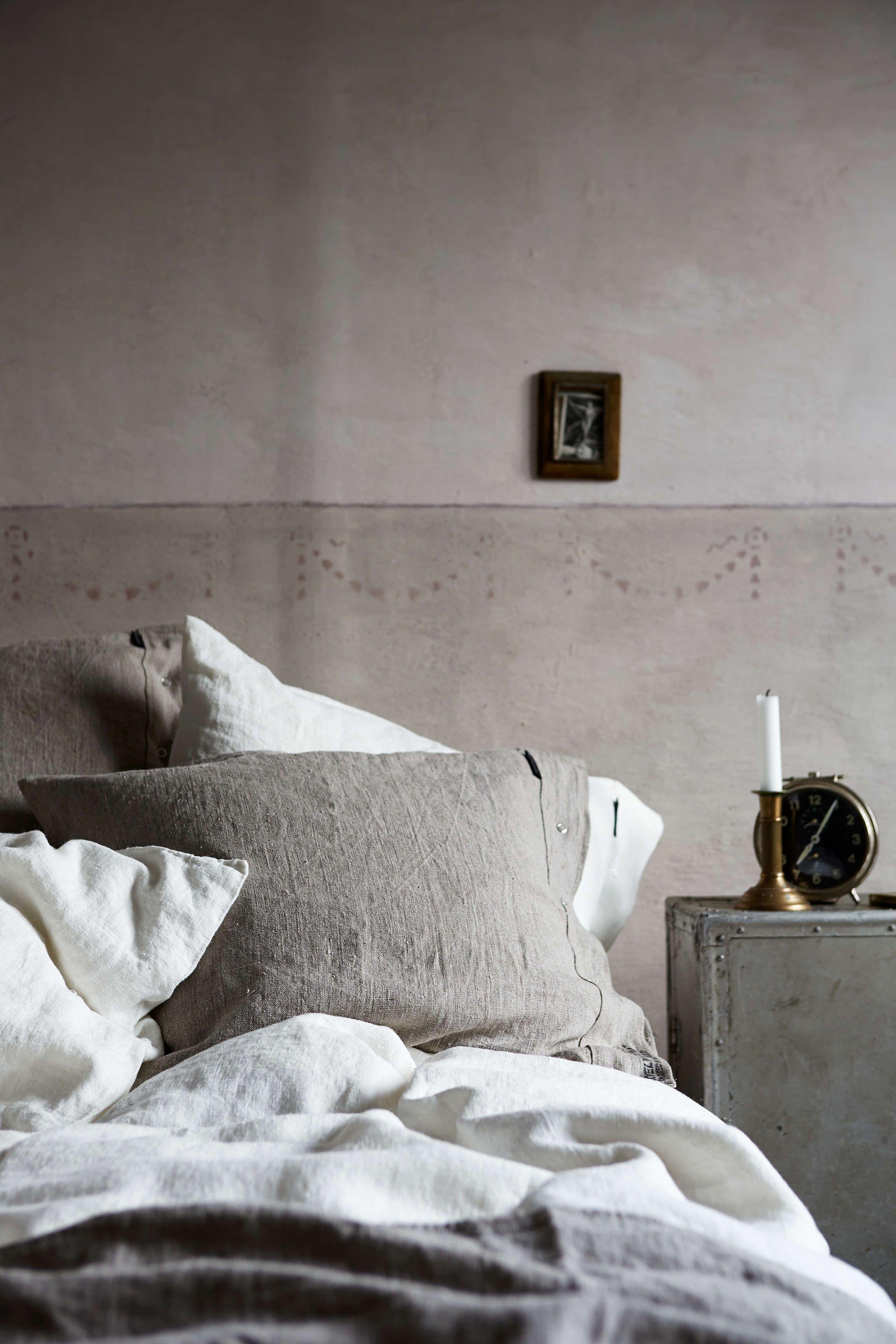 Bettbezug Lovely Linen Von Kardelen Weiss Skandinavische Mobel