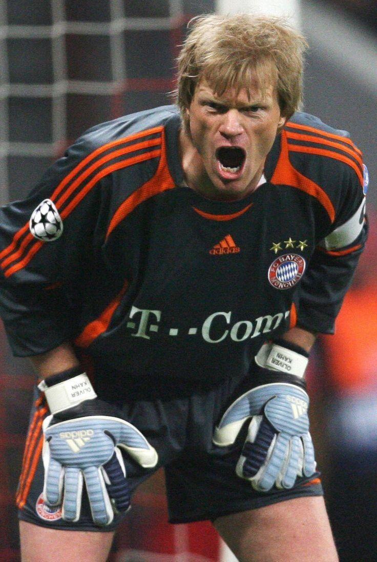 Oliver Kahn Bayern Munich Olahraga Gambar