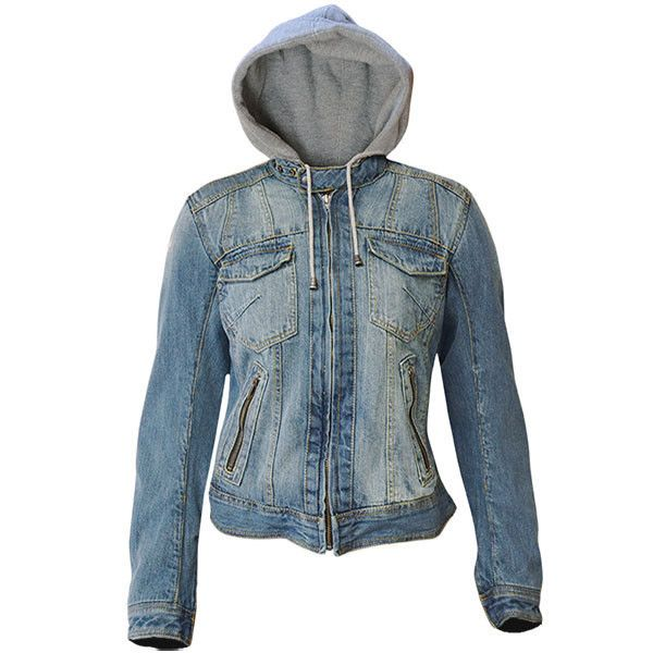 Bull-it Ladies Womens Motorbike Motorcycle Covec Denim SR6 Roadster Jacket Blue  | eBay