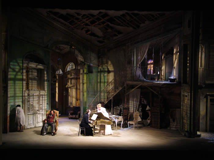 Il Barbiere di Siviglia – Scottish Opera Il Tabarro - LA Opera - Lighting Designer Mark Jonathan