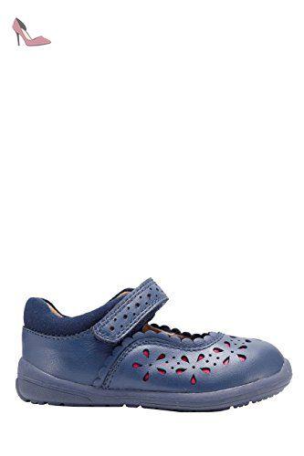 next Fille Babies Premiers Pas À Imprimé Floral (Maternelle Fille) Coupe Large Coupe Large. Bleu 3G 19 - Chaussures next (*Partner-Link)