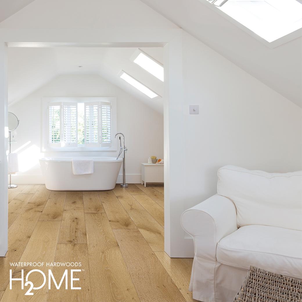 Waterproof Hardwood Floors For Your Bathroom In 2020 Waterproof Hardwood Hardwood Floors Flooring