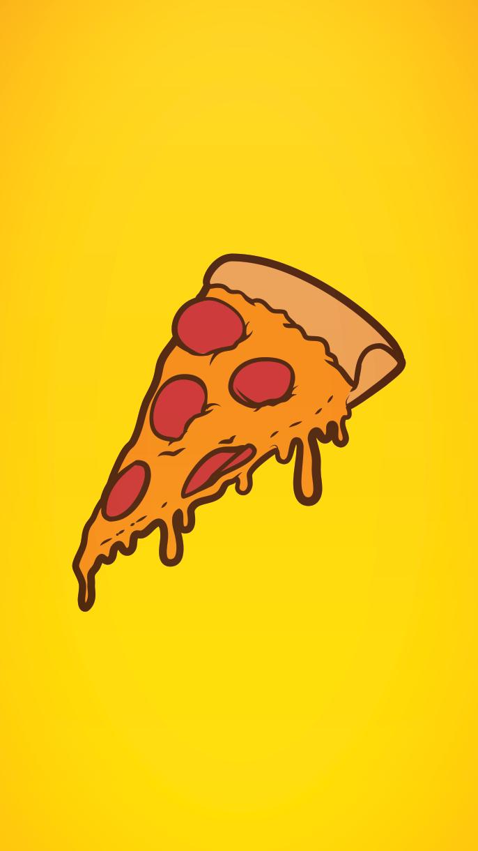 Pizza wallpaper phone | Phone Wall em 2019 | Tumblr ...