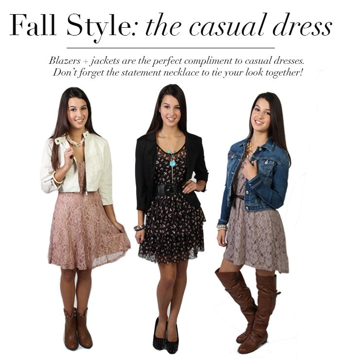 Collection Fall Casual Dresses Pictures - Reikian