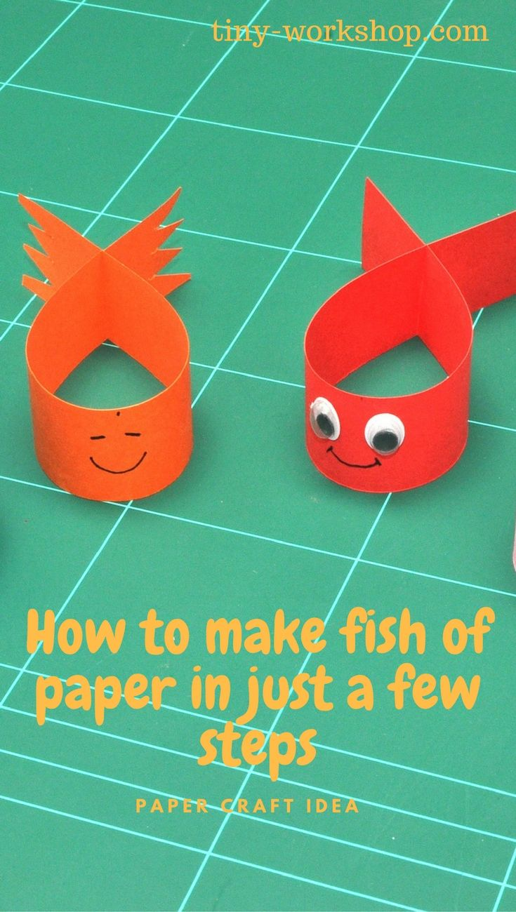 Fishes Of Paper Paper For Kids Pinterest Paper Paper Crafts